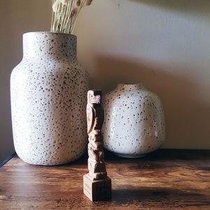Totem Pole Talking Stick Boho Gift / Decor Western